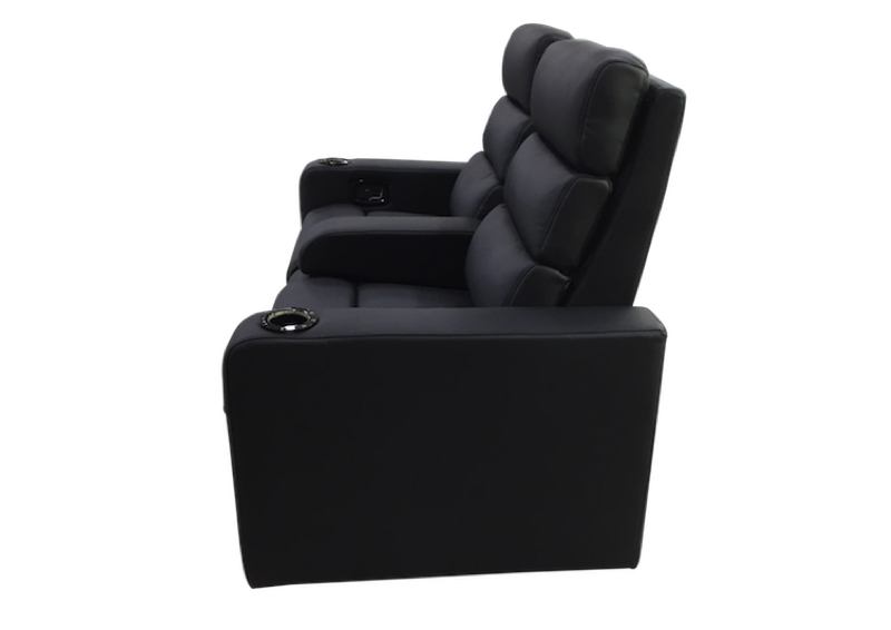 Black Vulcan Twinseat Loveseat zij