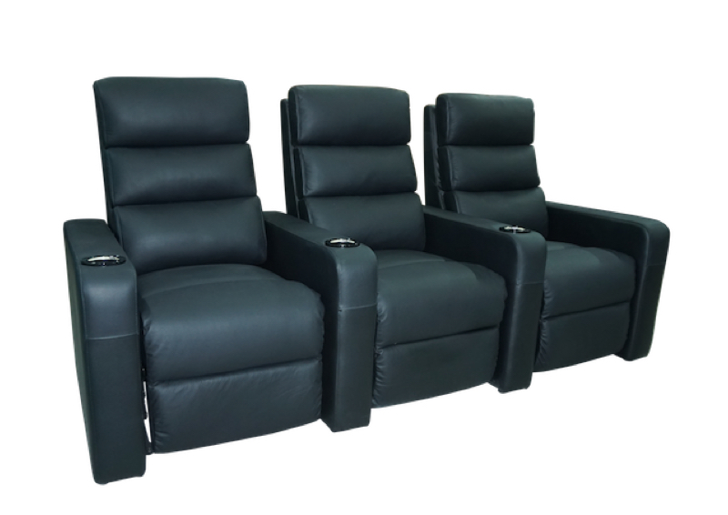 Black Vulcan Triple seat