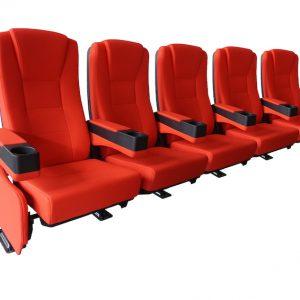 CineSlider Luxus kinositze Reihe von 5 Sitzen